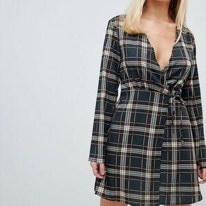 PrettyLittleThing Wrap Dress Dress